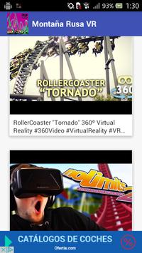 VR 360 Roller Coaster 2020 screenshot 5
