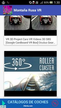 VR 360 Roller Coaster 2020 screenshot 6