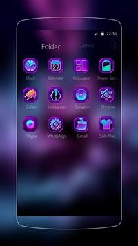 romantic flower purple apk screenshot