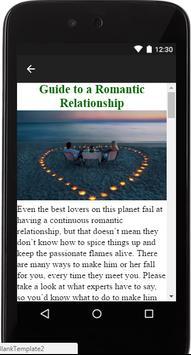 Romantic Relationships Guide screenshot 1