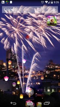 FireWorks Live Wallpaper screenshot 2
