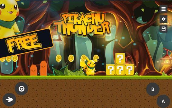 Super Pikachu: Thunder Adventure poster