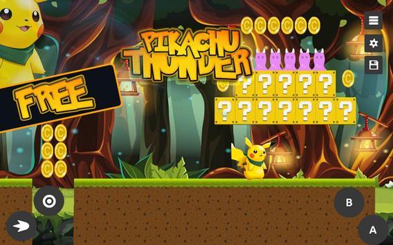 Super Pikachu: Thunder Adventure screenshot 2