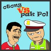 Icona Otong dan Pak Pol