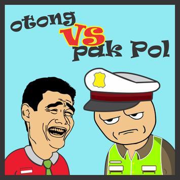 Poster Otong dan Pak Pol