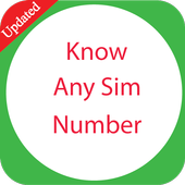 Know Any Sim Number icon
