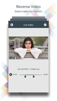 Reverse Video - Video Editor screenshot 1