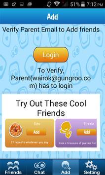 Roo Kids - Chat App screenshot 1