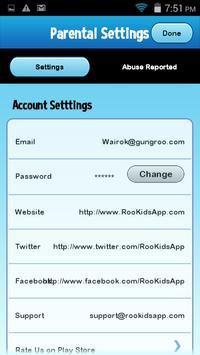 Roo Kids - Chat App screenshot 7