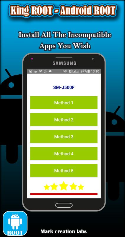 install incompatible apps android root