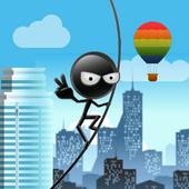 Rope Swing - Avenger Stickman icon