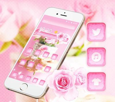 Rose Pink Elegent Theme poster
