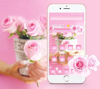Rose Pink Elegent Theme screenshot 1
