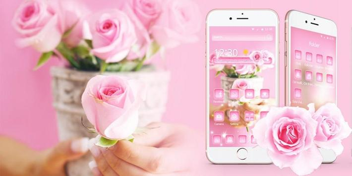 Rose Pink Elegent Theme screenshot 3