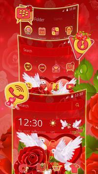 Rose Pigeon Love Theme screenshot 5