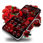 Red Rose Blossom icon
