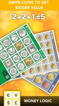 Gold Rush Game - money puzzle poster