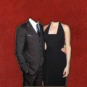 Couple Fashion Photo Suit icon