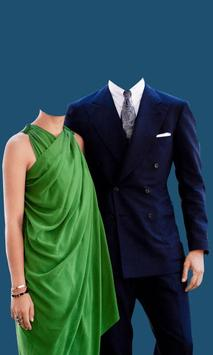 Couple Fashion Photo Suit poster