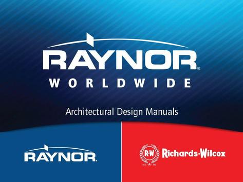 RAYNOR ARCHITECT DESIGN GUIDE poster