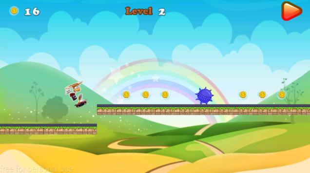 rayman skater adventure apk screenshot