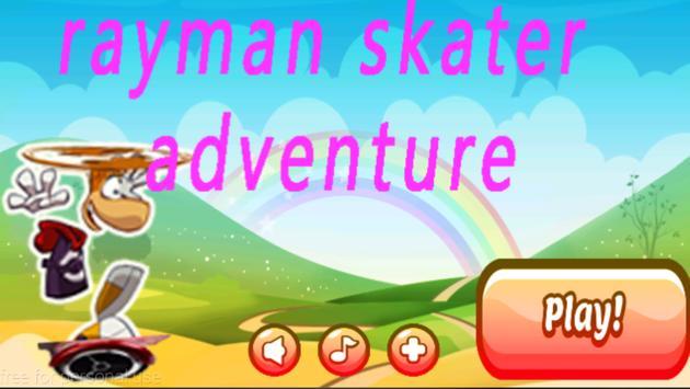rayman skater adventure poster