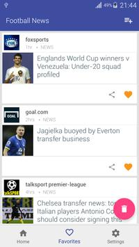 Football News apk screenshot