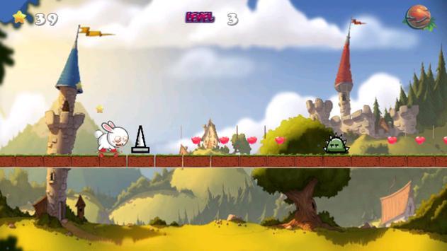 Rabbits Skater Adventure apk screenshot