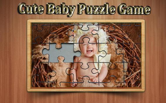 cute baby photo Jigsaw puzzle game screenshot 5