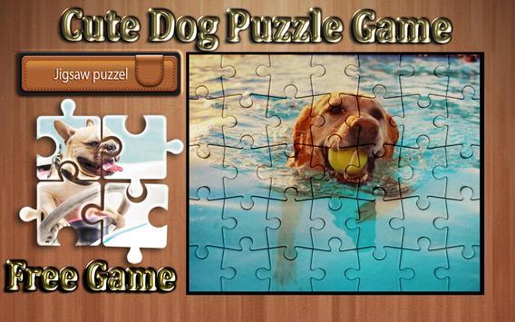 cute dog photo Jigsaw puzzle game screenshot 11