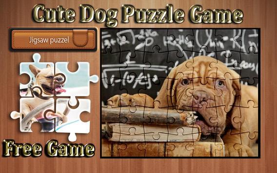 cute dog photo Jigsaw puzzle game screenshot 18