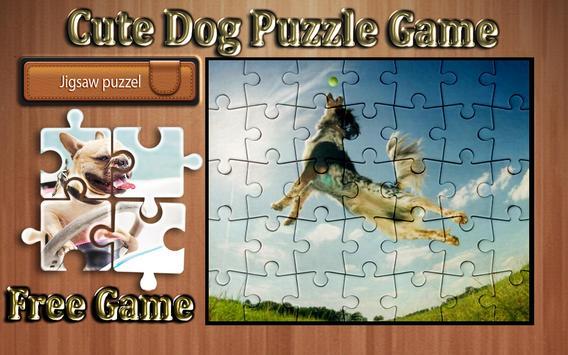 cute dog photo Jigsaw puzzle game screenshot 5