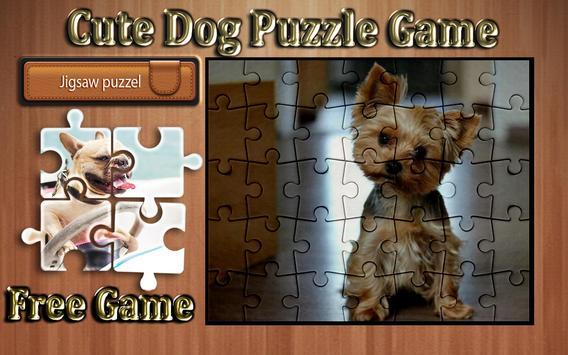 cute dog photo Jigsaw puzzle game screenshot 9