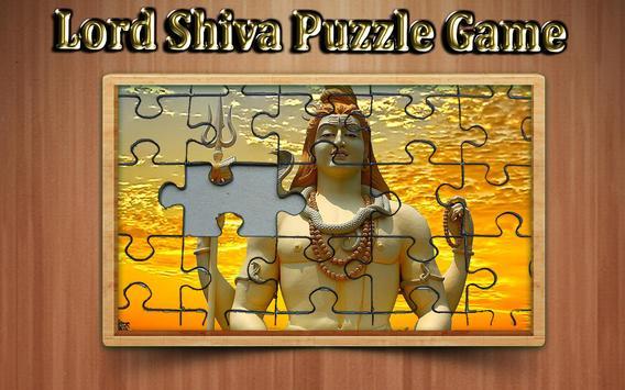 lord shiva Jigsaw Puzzle game screenshot 2