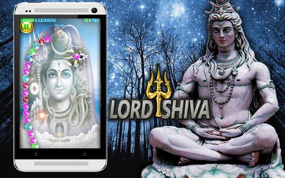 lord shiva trishul marble shoot apk screenshot