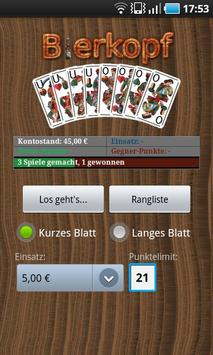 Bierkopf - Card Game poster