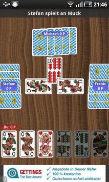 MUCKEN - CARD GAME (free) apk screenshot