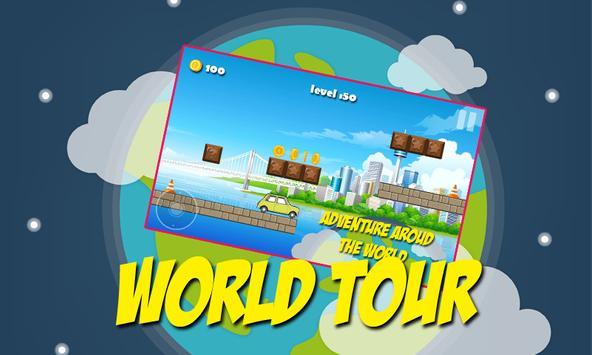 Racing Car Mr-Bean world tour apk screenshot