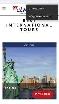 Clarks Tours apk screenshot