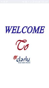 Clarks Tours poster