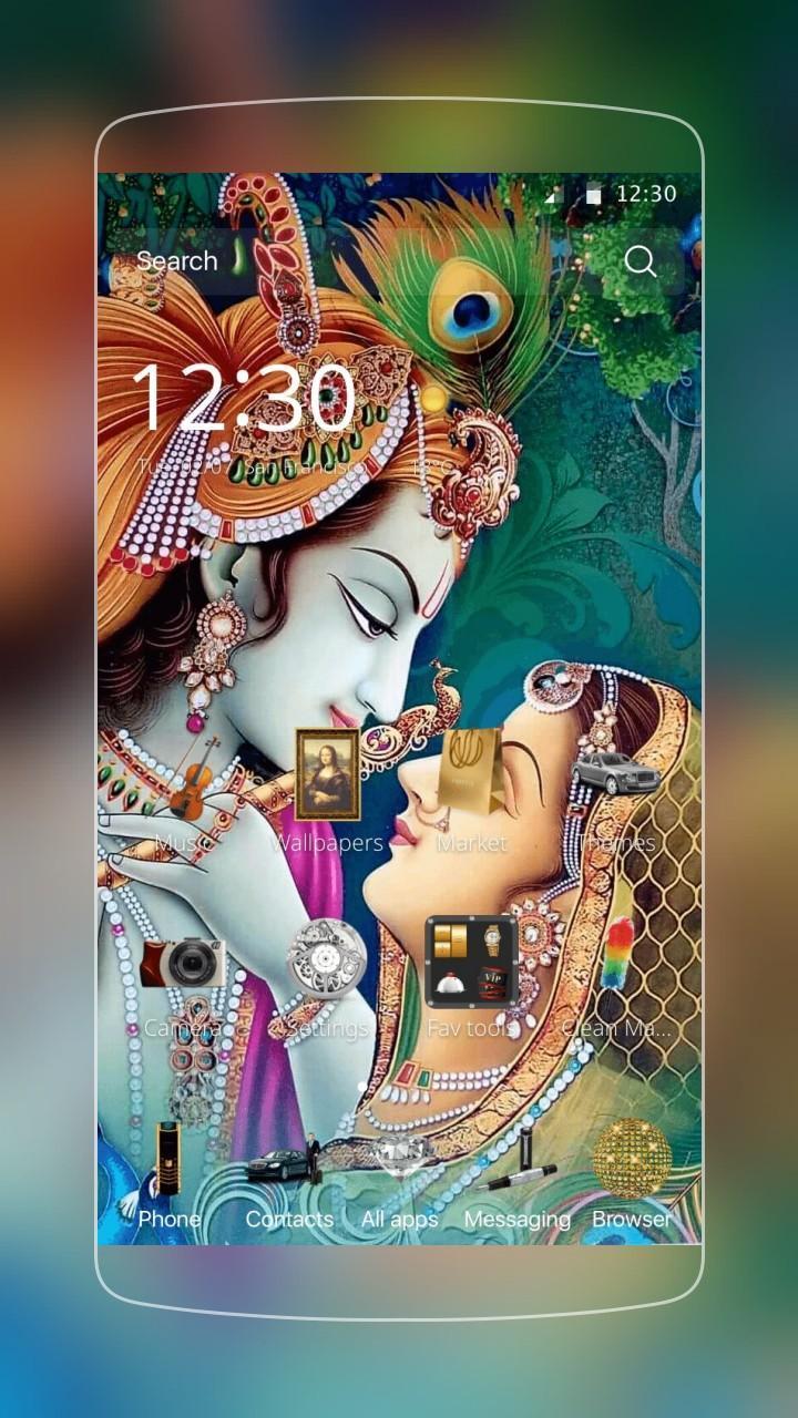 Radha krishna Theme for Android - APK Download