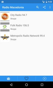 Radio Macedonia Free Online - Fm stations apk screenshot