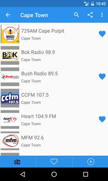 Radio South Africa Free Online - Fm stations apk screenshot