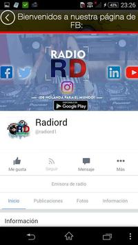 Radio RD screenshot 2