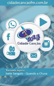 Cidade Canção FM 102,3 poster