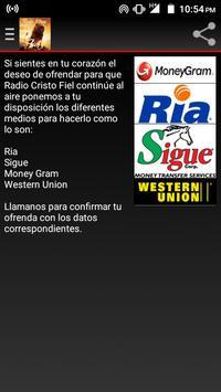 Radio Cristo Fiel screenshot 3