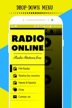1110 AM Radio stations online poster