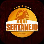 Rádio Aqui Sertanejo icon