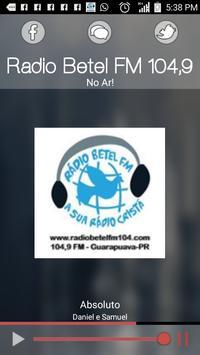 Radio Betel FM 104,9 poster