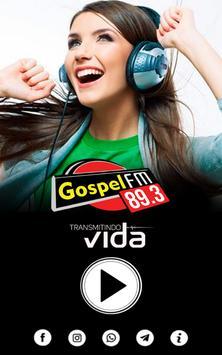 Rádio Gospel FM 89,3 poster